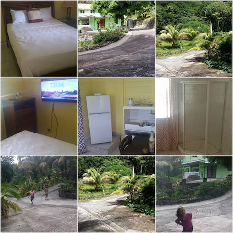 3 fully furnish separate cottages - Roseau - Bed & Breakfast