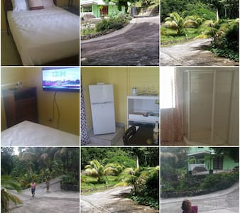 3 fully furnish separate cottages - Roseau