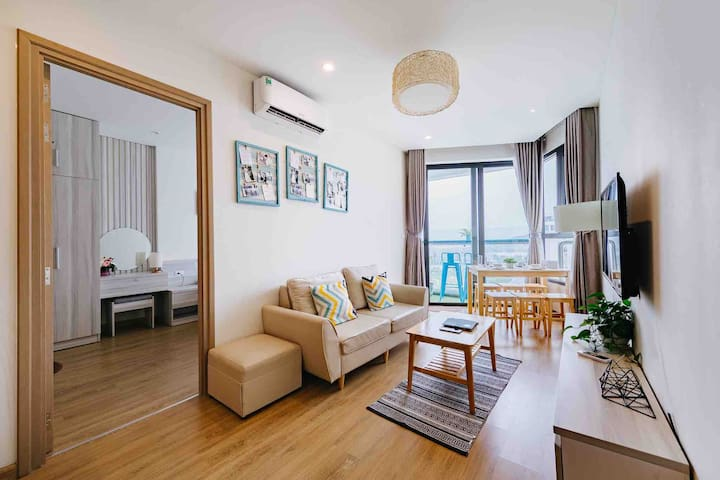 Cozy 2BR Apt⭐Stunning Bay View⭐NEAREST to CRUISE⭐