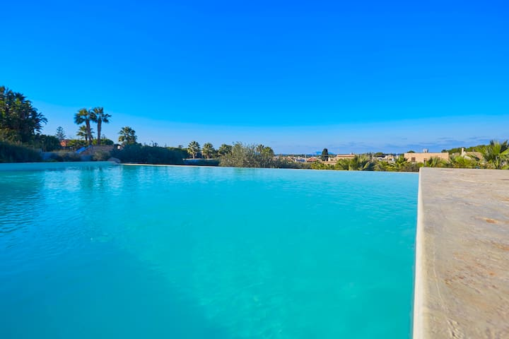 Panoramic villa with pool - มาร์ซาลา - วิลล่า