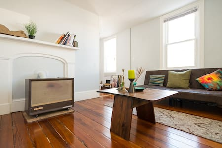 Private living room at Wickenden St