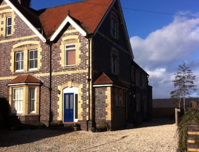 Double room in one-bedroom Victorian cottage - Worcestershire - House