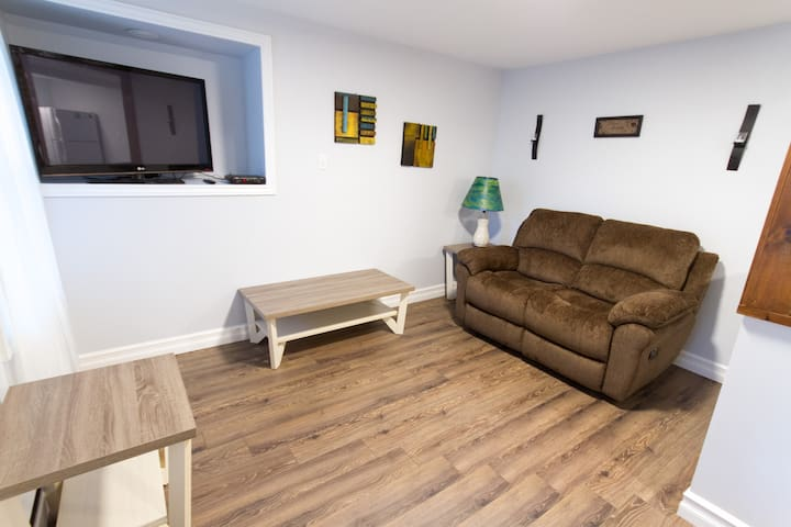 Bright newly renovated one bedroom apartment