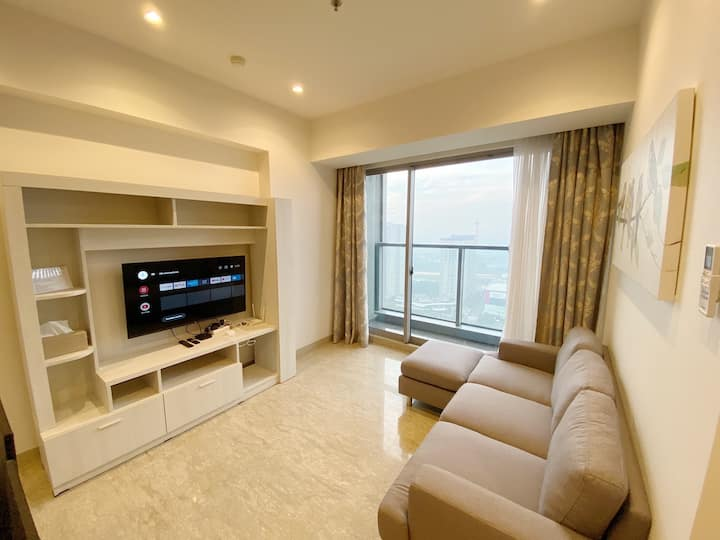Branz BSD 3 Bedroom Large Luxury Family Apartment