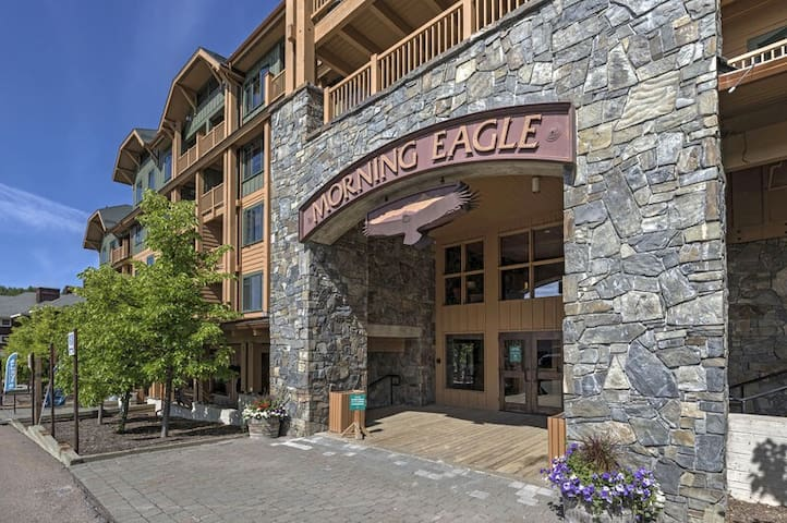 1 bedroom ski in/ski out @ Morning Eagle