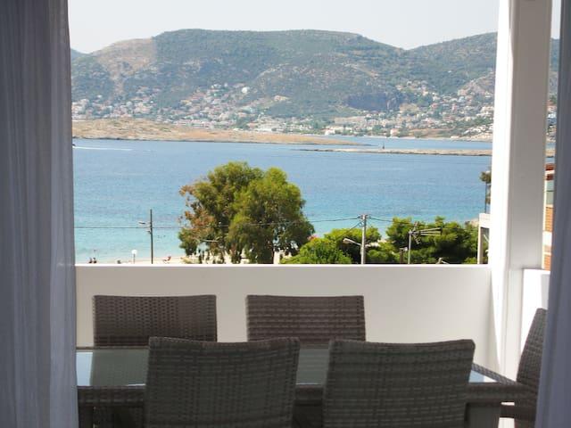 On the Beach modern 3 bedroom apartment - Porto Rafti - Byt