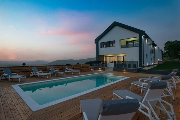 Private Vila **** with two pools