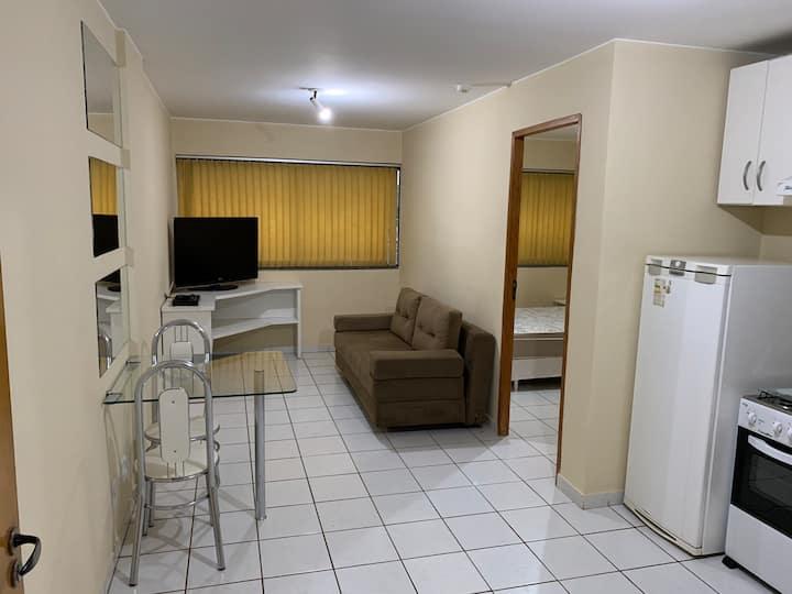 Apartamento mobiliado CA 02, Bl. F, Lago Norte