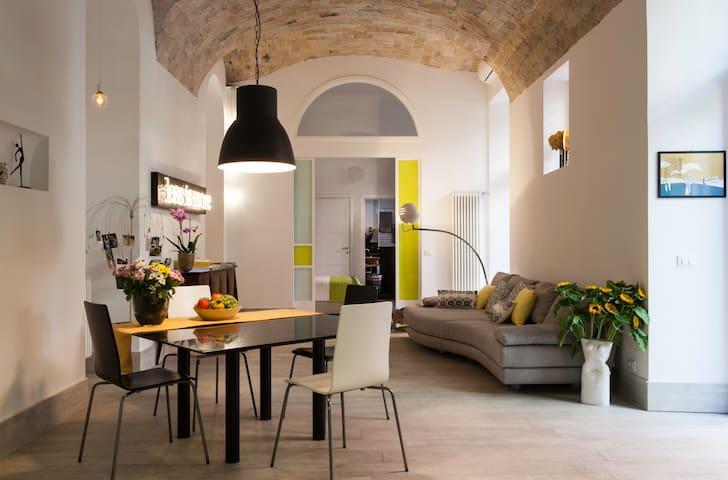 Central loft with a big garden and luxury design - Roma - Apartamento