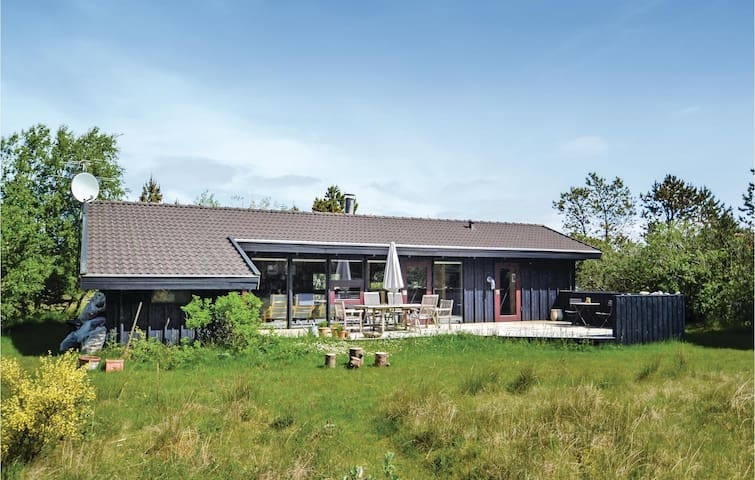 Holiday cottage with 4 bedrooms on 81m² in Fjerritslev