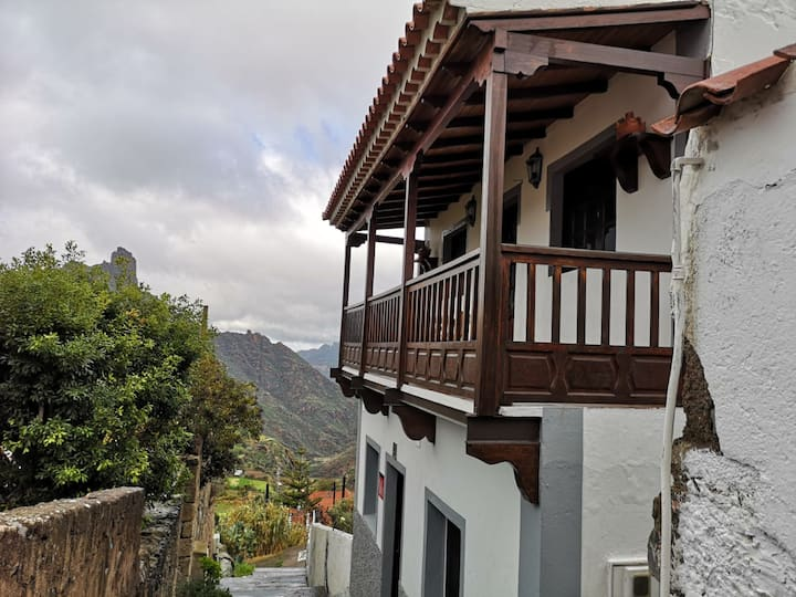 Alojamiento E con Balcón