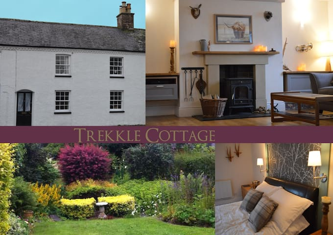 Trekkle Cottage. 1790 mill workers house. - Gatehouse of Fleet - Casa