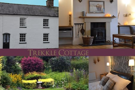Trekkle Cottage. 1790 mill workers house. - Gatehouse of Fleet - Haus