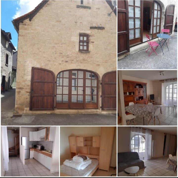 Maison Villeneuve : village médiéval Aveyronnais