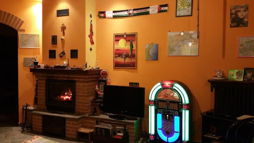 CasaPaquito,camera da1a4posti letto - Trino - Huis