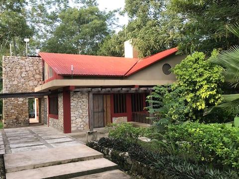 Eco - Cabaña Maya Rue