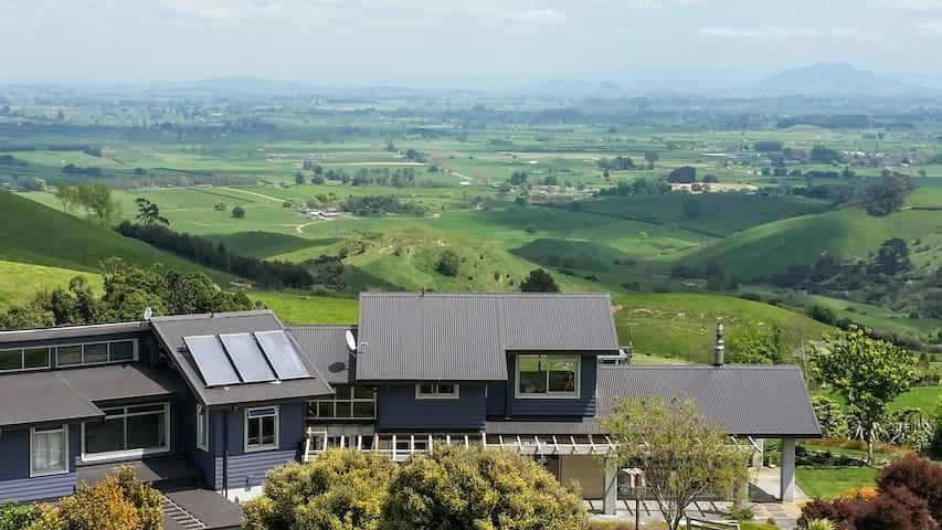 Cambridge Eco B&B, a jewel in your NZ backyard