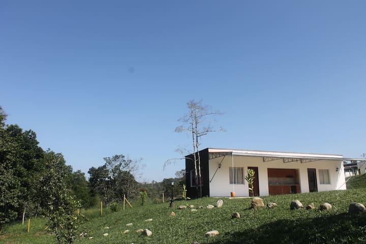 Espectacular casa en las afueras de Popayán