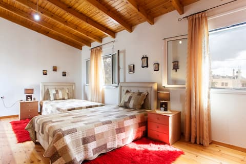 Renovated Traditional house with Wooden floor