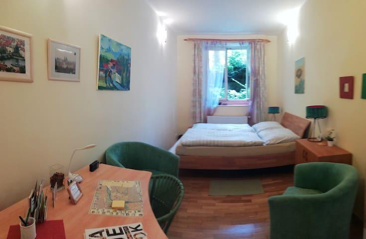 Prague 3, Vinohrady, 2-Zimmer-Whg
