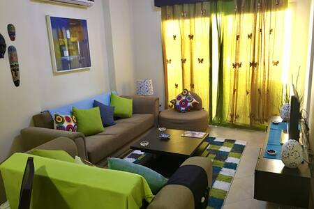 Charming Hurghada Poolview 1-BR at British Resort - Hurghada - Leilighet