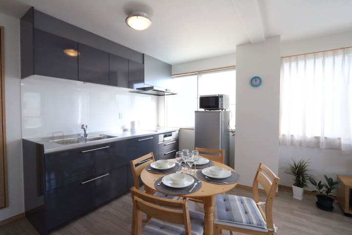 ★Family-friendly 5F condo ★5min walk to Nagano Sta - Nagano-shi - Condominium