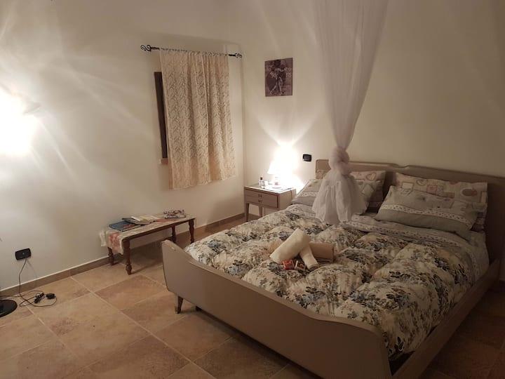 Quadrupla-Bagno in camera con doccia-La Lumaca