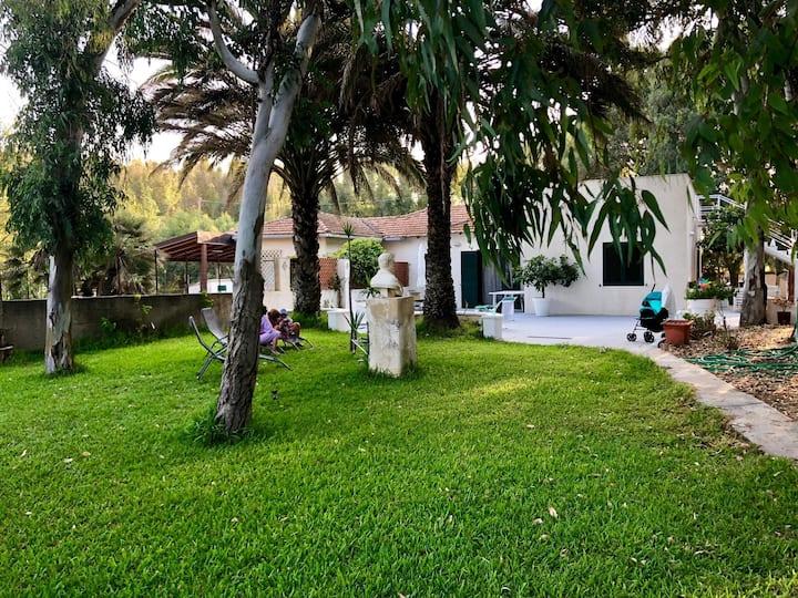 Villa con accesso privato al mare e parco alberato