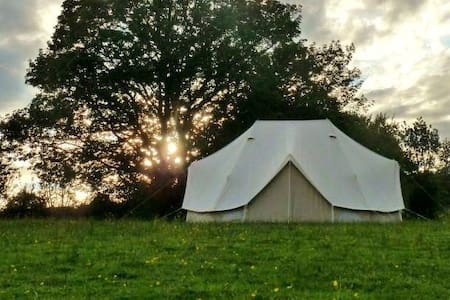 Luxurious Big Bell Tent at Crann Og Eco Farm Stay - Gort