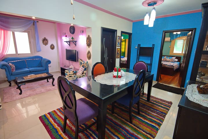 ☀ Cozy Modern Apt In DownTown Close To Tahrir SQ ☀