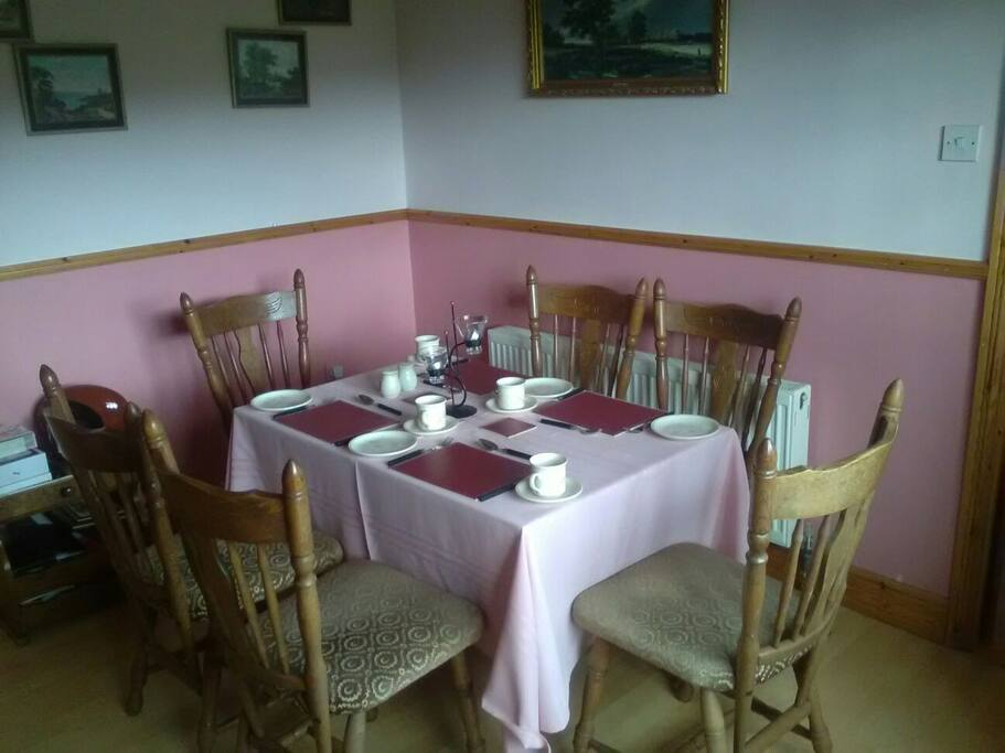 Private dining are with tea & coffee facilities