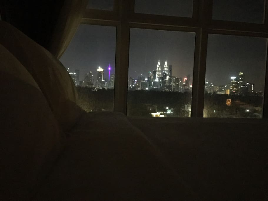 Beautiful scenery all night long