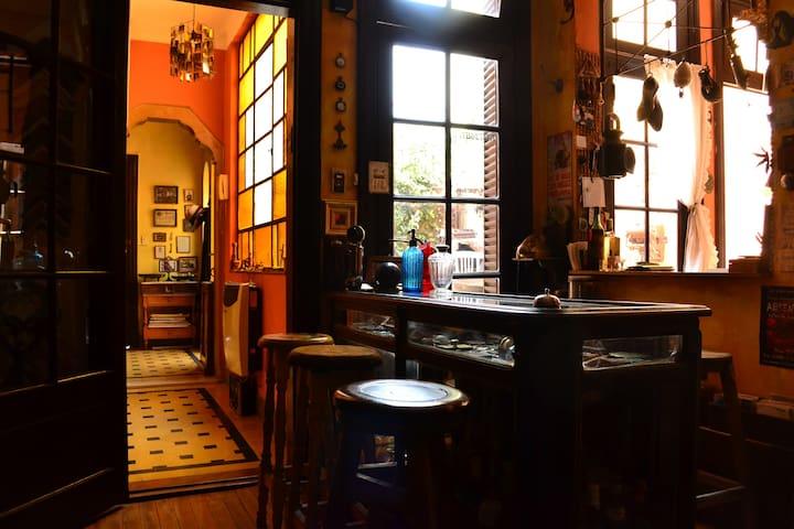 Casa céntrica, arte, musica y antiguedades. - Rosario - Casa
