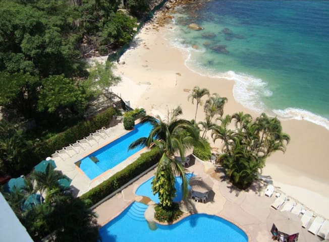 Puerto Vallarta Beach Front 4BD Luxury Condo