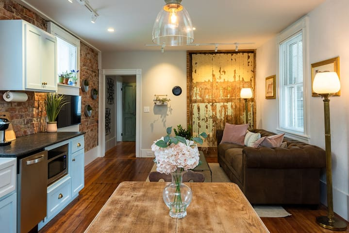 Garden Apartment | One of Seven Individually Designed Units in The Belmont Farmhouse