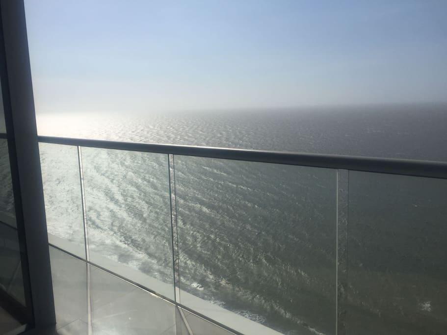 Vistas del salón al caribe (270 grados de vista )