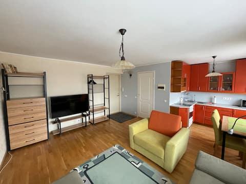 Beautiful studio apartment in Haapsalu