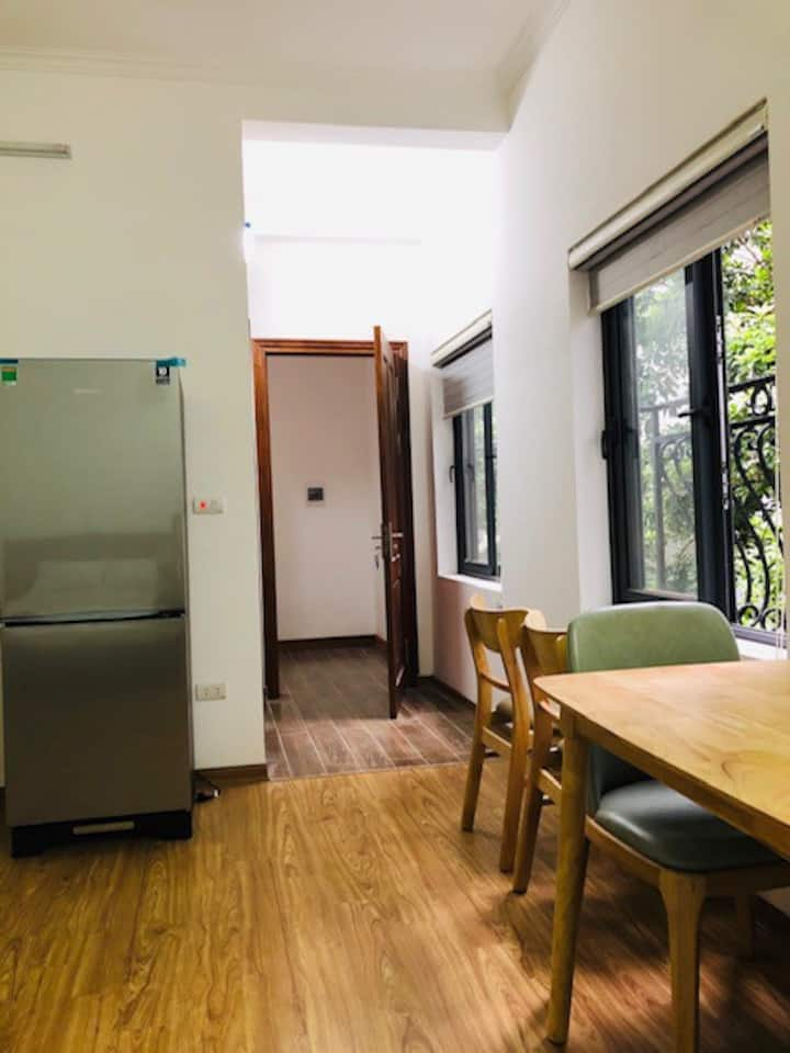 4-story house for rent at Phan Dinh Phung, Ba Dinh