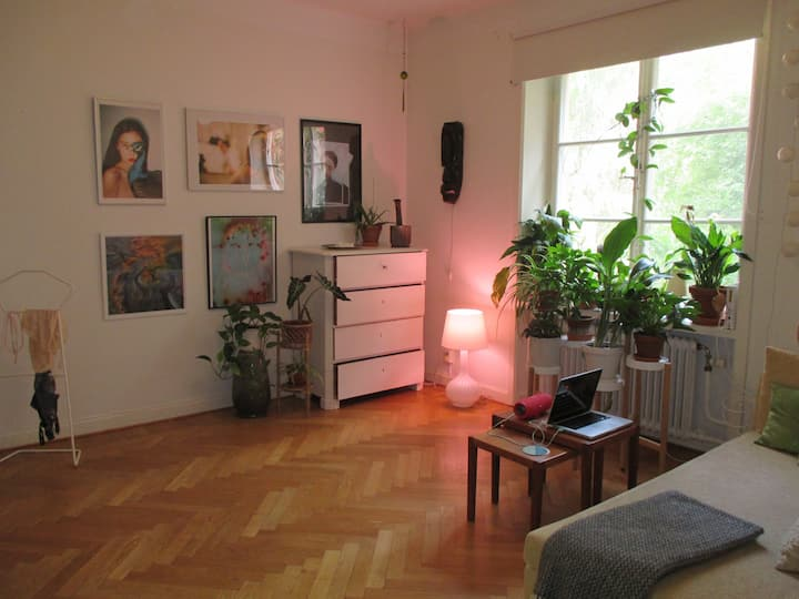 Light and cosy flat in the heart of Södermalm.
