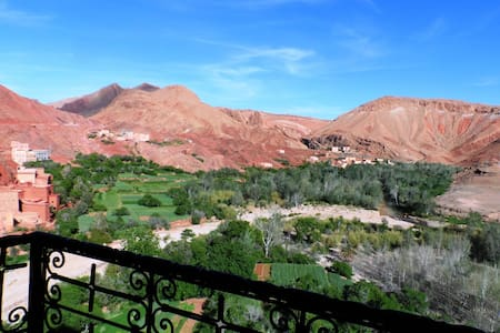 double/tripl room in heart of dades valley