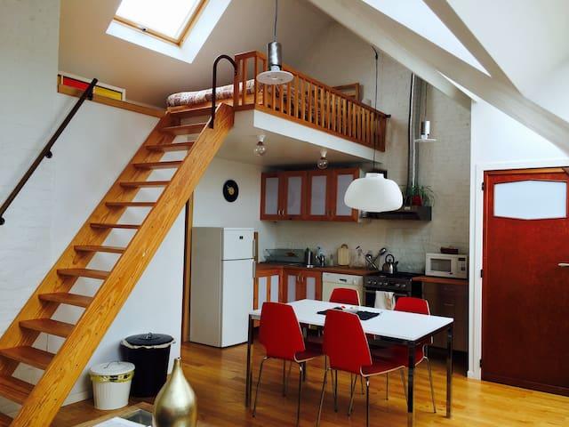 Appartement avec vue dans maison Art déco - Forest - Apartamento