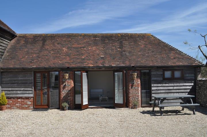 Contemporary Barn Annex.