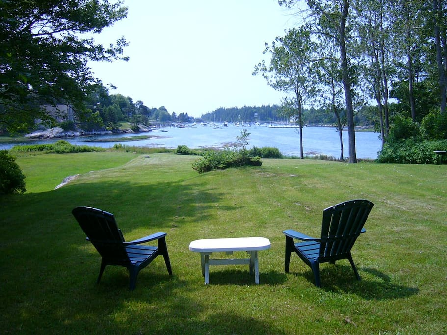 View from just in front of the cottage