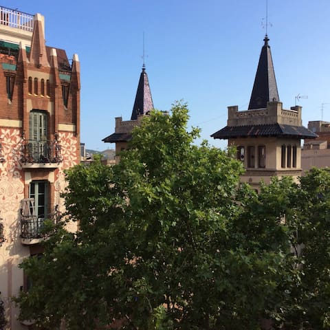 Penthouse with views & perfect location - Barcelona - Apartamento