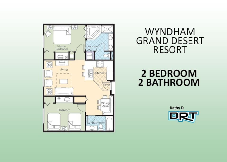 2br Wyndham Grand Desert Resort H3a Apartments For Rent In Las Vegas Nevada United States