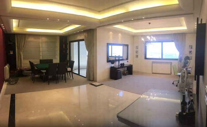 Apartment for rent in Mansourieh, best for family
