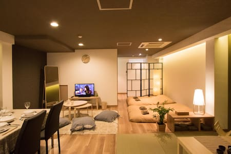 10ppl★Ideal Location★1min Namba FreeWifi - Chūō-ku, Ōsaka-shi - Íbúð