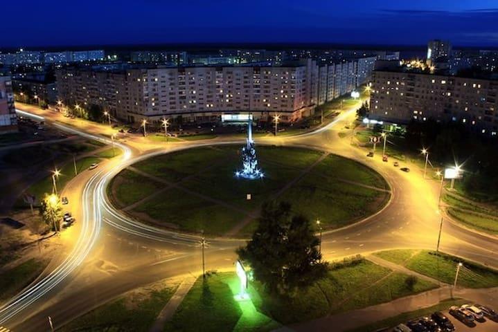 1 комнатная квартира в центре - Severodvinsk - Apartment
