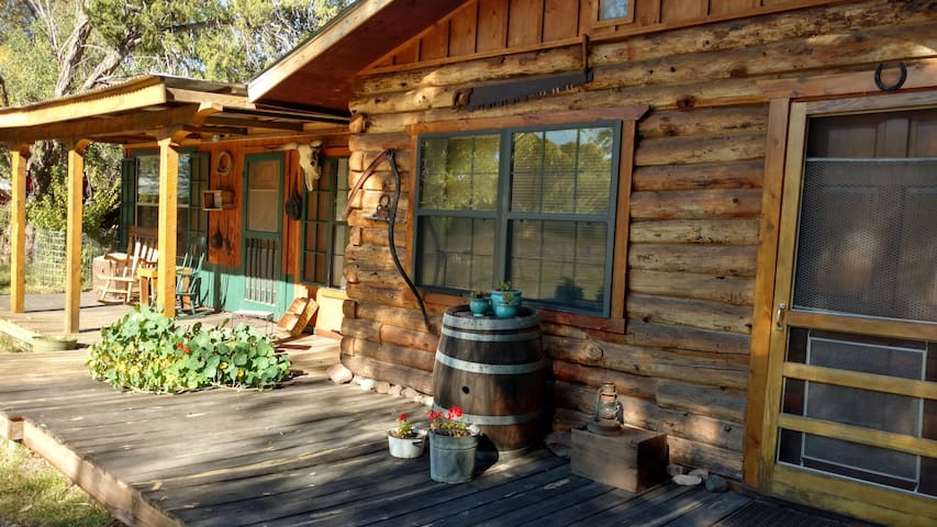 Log Cabin Agave | Vacation Rental | Hiking | Bird Watching | Free Wi-Fi | Gila National Forest