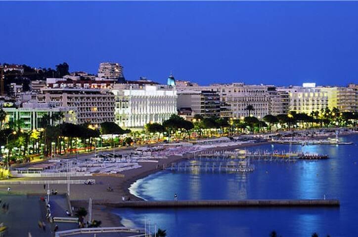 Cannes proche centre ville plages à 10 minutes - Cannes - Apartamento
